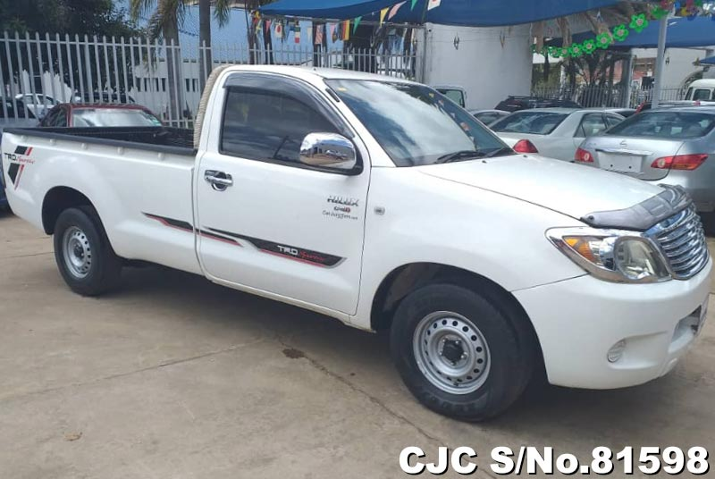 Toyota Hilux in White for Sale