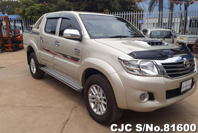 Toyota Hilux in Beige for Sale