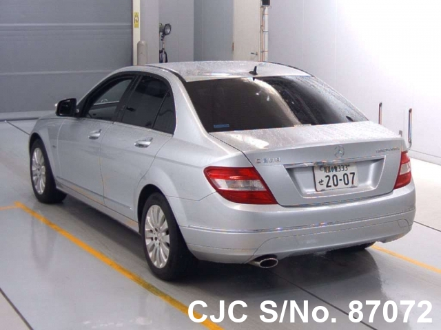 Mercedes Benz C Class in Silver for Sale Image 1