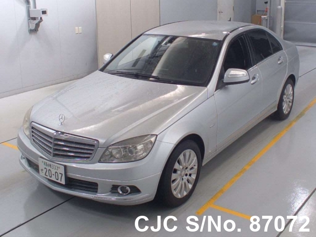 Mercedes Benz C Class in Silver for Sale Image 3