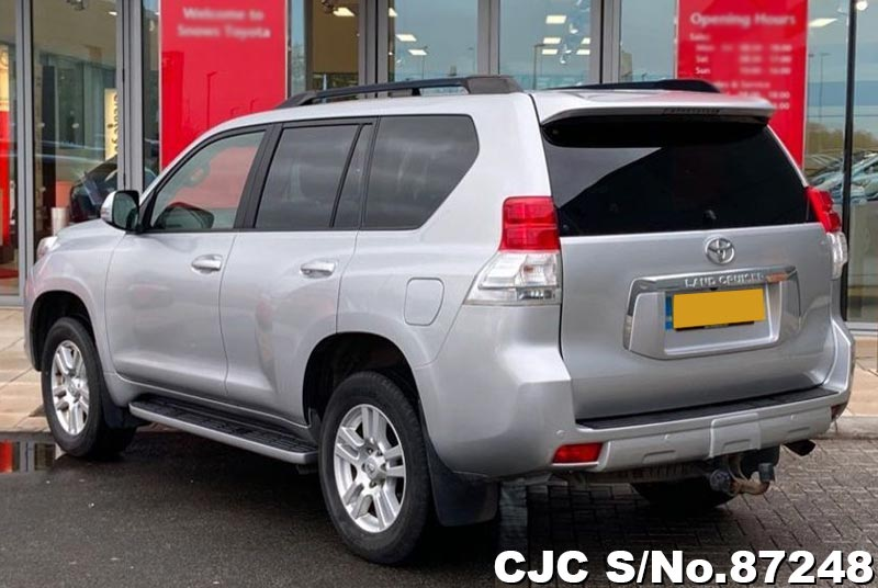 Toyota Land Cruiser Prado in Silver for Sale Image 1