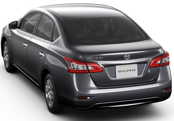 Nissan Bluebird Sylphy in Titanium Grey Metallic for Sale Image 1