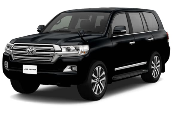Toyota Land Cruiser in Black for Sale