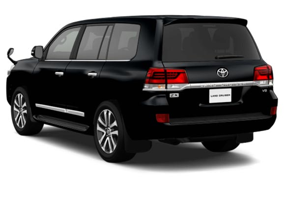 Toyota Land Cruiser in Black for Sale Image 1