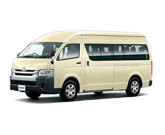 Toyota Hiace Commuter in White for Sale