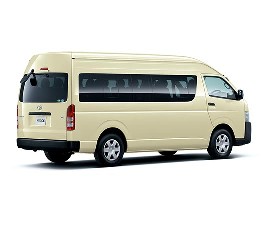 Toyota Hiace Commuter in White for Sale Image 1