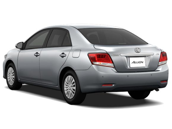 Toyota Allion in Pearl White for Sale Image 1