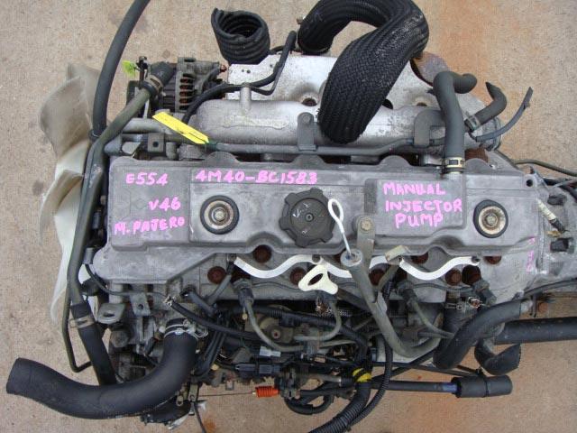 Pajero V46 Engine