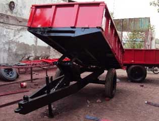 Hydraulic tipping trailer 1