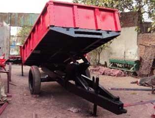 Hydraulic tipping trailer 2